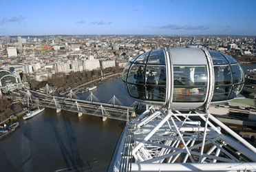 London full day Tour with Coca – Cola London Eye Flight