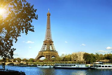 گشت یک روزه تور پاریس + برج ایفل + طاق پیروزی